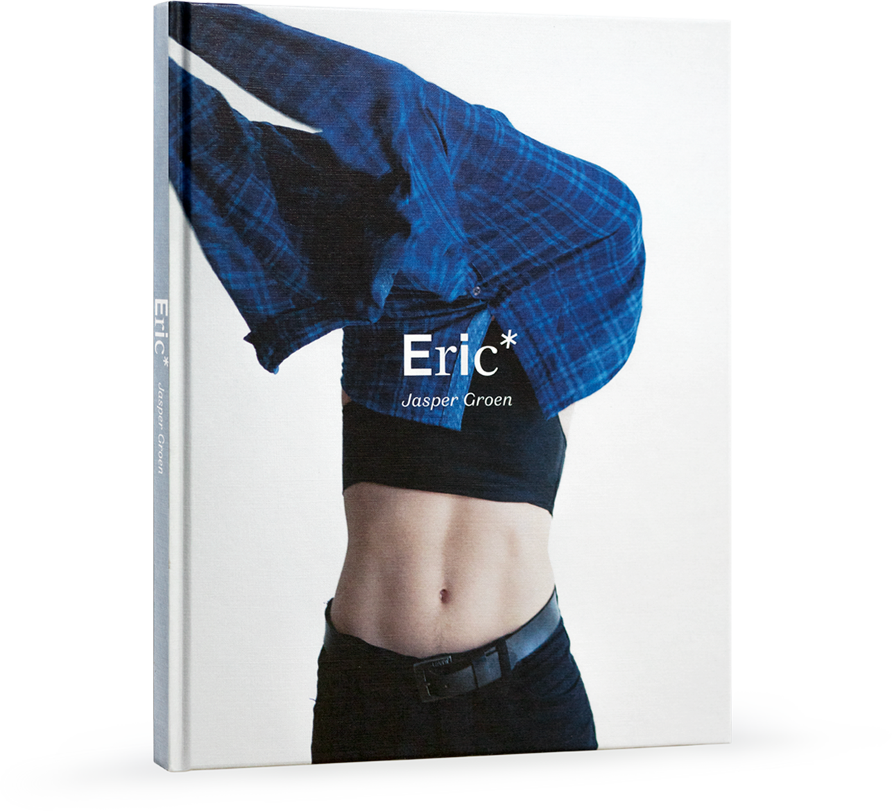 Eric* the book cover by photographerJasper Groen